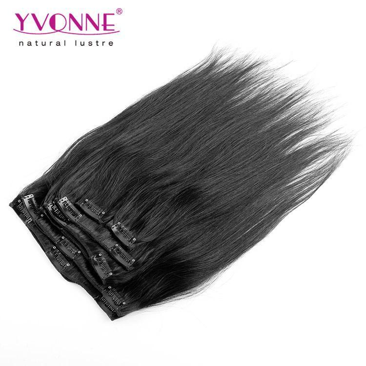 Yvonne Clip In Brazilian Human Hair Extension 18inch And 22inches