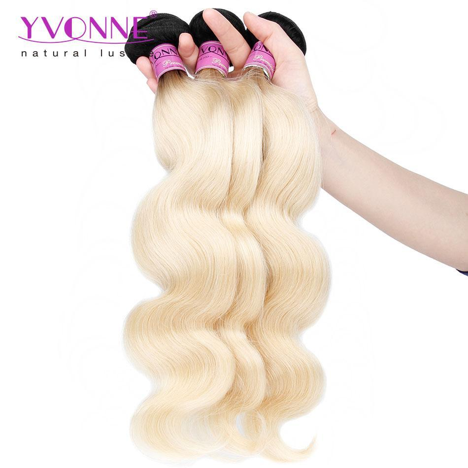 Yvonne Hair 3pcslot 1b613 Color Best Quality Brazilian Hair Body