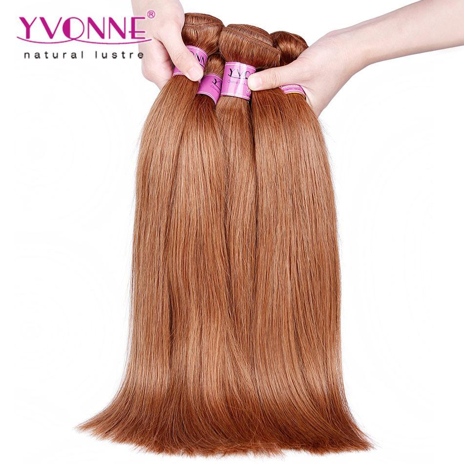 Yvonne Best Quality Color Hair 30 Natural Straight Hair Weave100