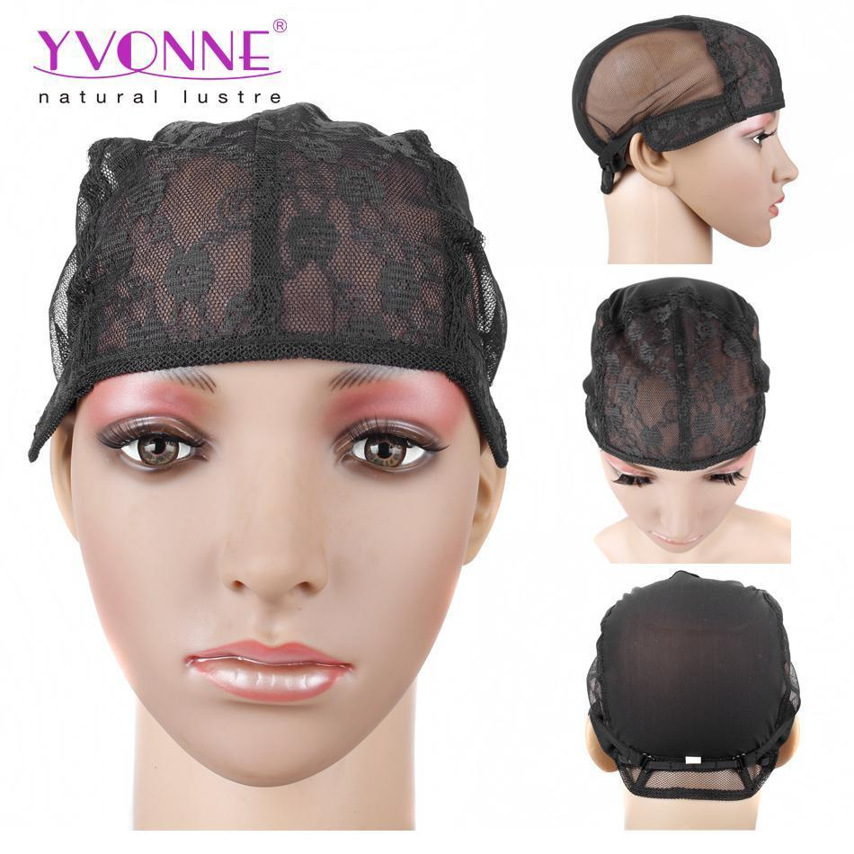 Yvonne Good Quality Lace Hair Weaving Wig Caps