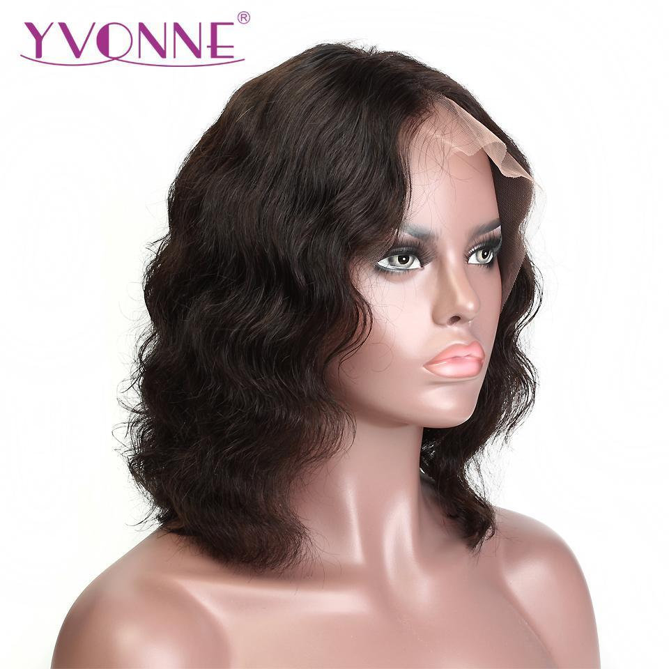 Shoulder Length Virgin Brazilian Hair Highlight Bob Lace ...