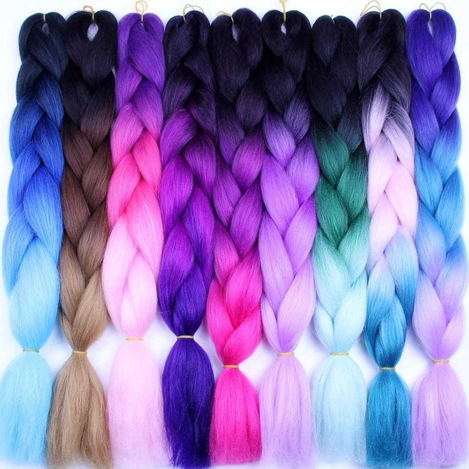 Yvonne Braiding Hair 1 Bundle 24 Synthetic Jumbo Braids 100g