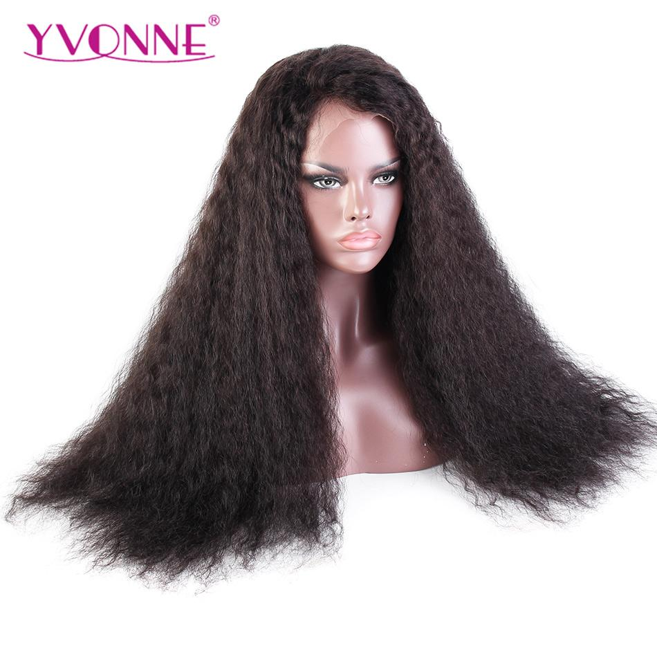 Yvonne 24inches Ocean Wave Lace Front African American Wigs 180