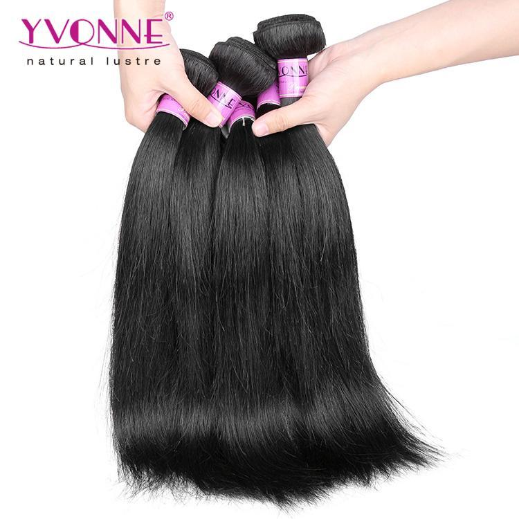 Platinum Grade Brazilian Hair Weave Natural Straight Natural Color