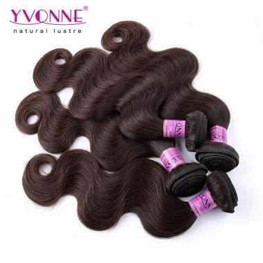 Yonne Color Series Body Wave Real Human Hair Weaving Color #2