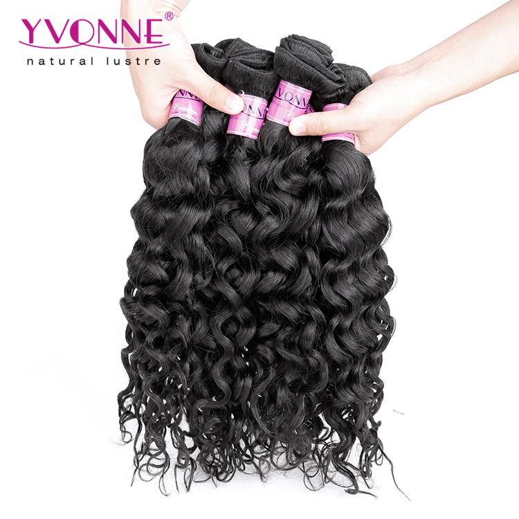 Grade 6a 100 Brazilian Italian Curl Virgin Hair Weave 1b Color