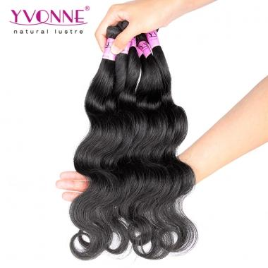 Virgin Hair Body Wave,Real Human Hair Sample,12inches Yvonne Hair Sample,About 12g/pcs