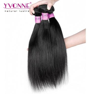 BIG SALE Natural Straight Brazilian Hair Weft,Yvonne Human Hair Products,New Arrival and Good Quality