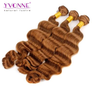 Yvonne Color Series Hair #30 Big Curly Hair Weft,100% Human Hair,18 20 22 Inches Avaliable