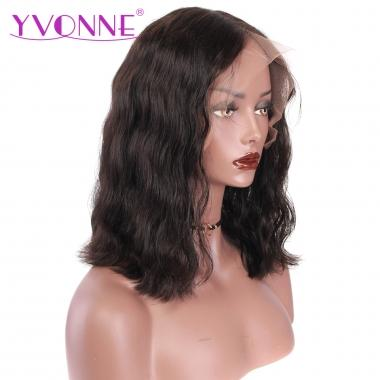 YVONNE 360 Lace Frontal Wigs Pre Plucked With Baby Hair Brazilian Body Wave 100% Human Hair Lace Wigs