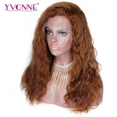 YVONNE Natural Body Wave Human Hair Lace Front Wigs Color 4