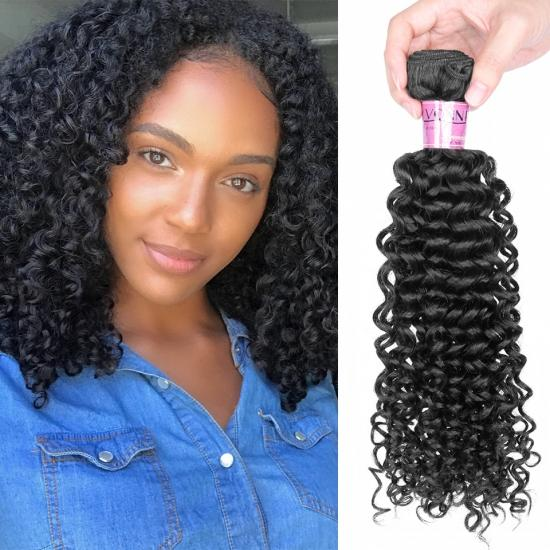 Platinum Grade Brazilian Hair Weave Malaysian Curly Natural Color 1Pcs/lot