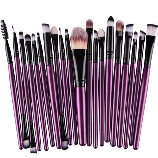 20Pcs Makeup Brushes Set Eye Shadow Foundation Powder Eyeliner Eyelash Lip Make Up Brush Cosmetic Beauty Tool Kit Hot