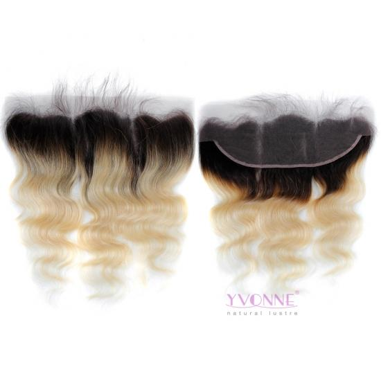 YVONNE Body Wave T1B/613 Virgin Hair 13x4 Lace Frontal 100% Human Hair Products
