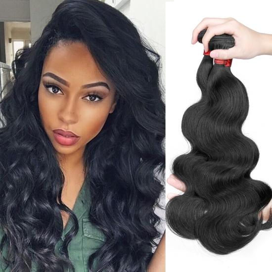Diamond Quality Brazilian Hair Weave Body Wave Natural Color 1Pcs/lot