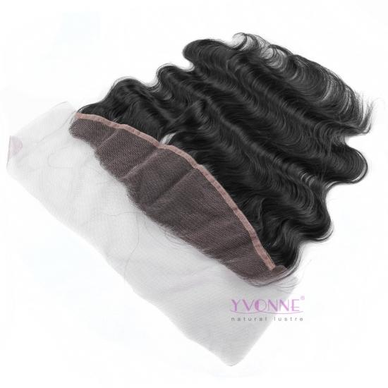 YVONNE Body Wave Brazilian Lace Frontal 13.5x4,100% Unprocessed Virgin Hair Brazilian Lace Frontal