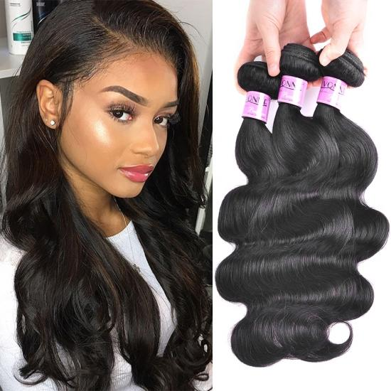 Brazilian Remy Hair Weave Body Wave Natural Color 1Pcs/lot