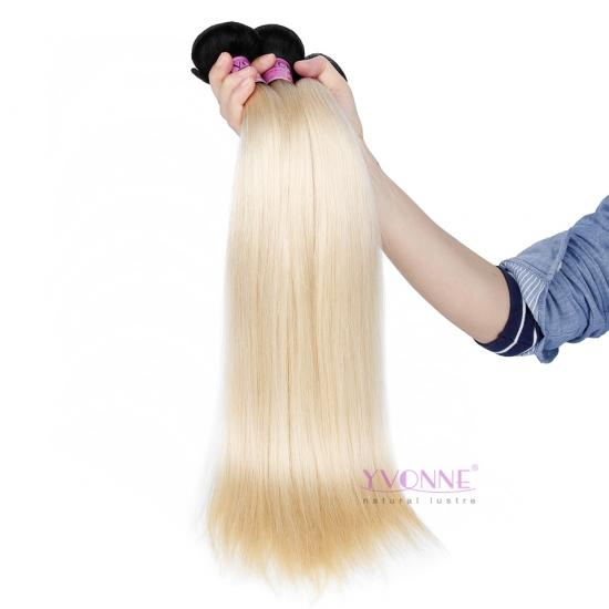 New Arrival YVONNE Fashion Hair 1Pcs/lot 1B/613 Color Straight Hair Weft,High Quality and Wholesale Price