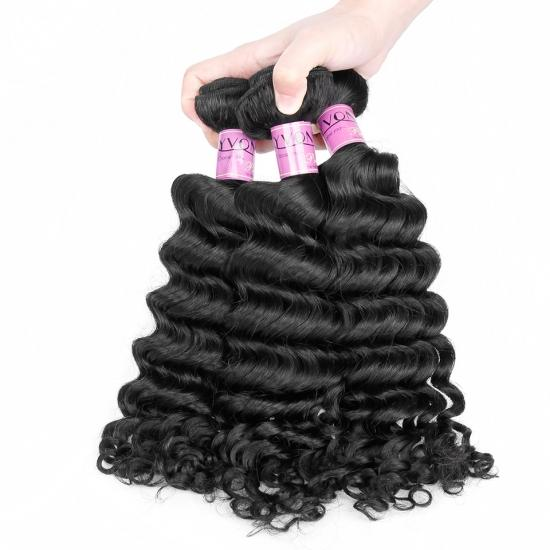Top Quality Grade 7A Brazilian Deep Wave Virgin Hair,100% Yvonne Human Hair Extension