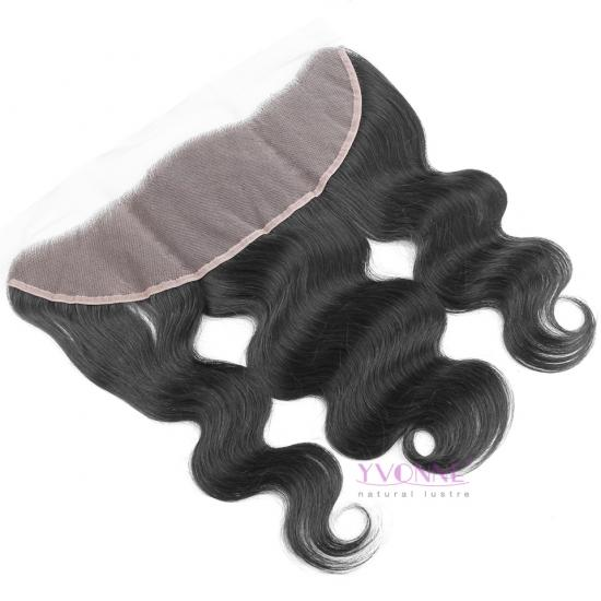 Yvonne Fashion New Brazilian Lace Frontal,100% Natural Remy Hair Body wave Lace Frontal,10