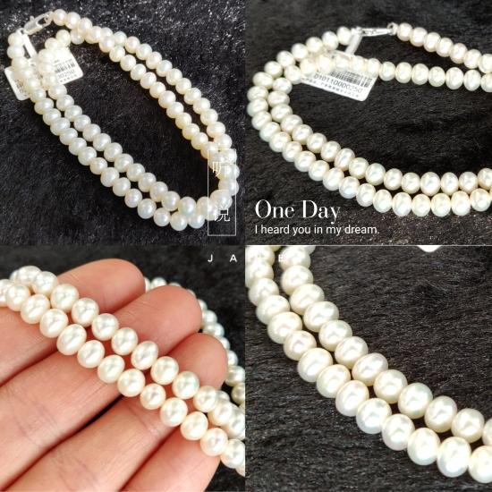 100% Real Natural Pearl Necklace